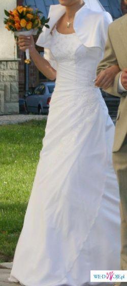 Suknia ślubna Biała Rozmiar 3638 Suknie ślubne Ogłoszenie