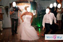 Suknia ślubna biała - rozmiar 38 + Gratisy !!!!