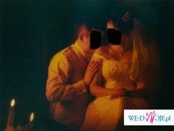 Suknia Slubna biała Sposa Egzotica rozmiar 42 Oryginalna, śliczna