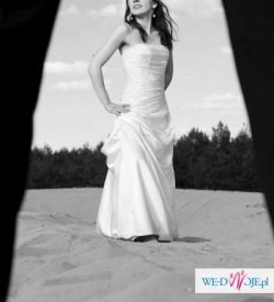 Suknia ślubna, biała Sposabella