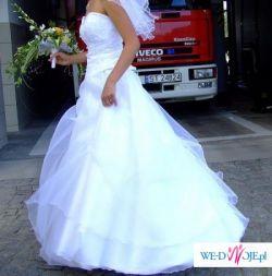 suknia ślubna biała tychy