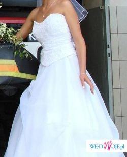 suknia ślubna biała Tychy... warto
