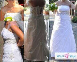 Suknia ślubna- biel