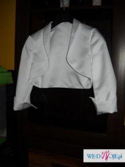 Suknia ślubna(bolerko,buty)