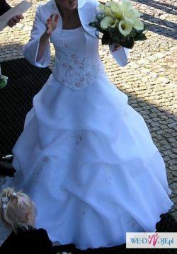 Suknia ślubna - bolerko GRATIS