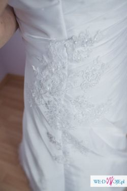 Suknia ślubna + bolerko i welon gratis