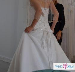 Suknia Ślubna + bolerko ślubne