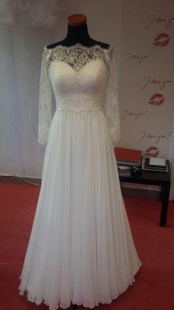 Suknia ślubna + bolerko + welon !!! 1800zl