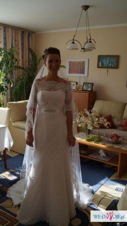 suknia ślubna, bolerko, welon sprzedam