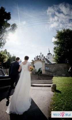 Suknia ślubna Boromea roz. 36 Cymbeline-Dexa z koronką