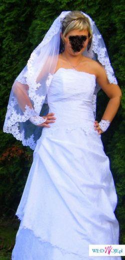 suknia ślubna buty ślubne
