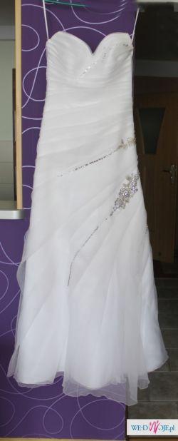 Suknia ślubna+cały zestaw+gratis torebka!!