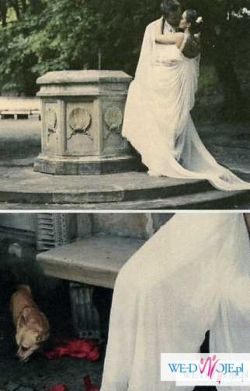 Suknia ślubna Carla  Manuel Mota