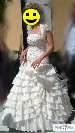 Suknia Ślubna Carmell - Hiszpański Temperament!!