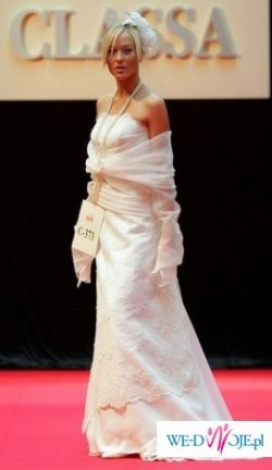 Suknia ślubna CLASSA C-373 ECRU