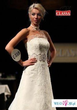 Suknia Ślubna CLASSA C-518 rozm.38