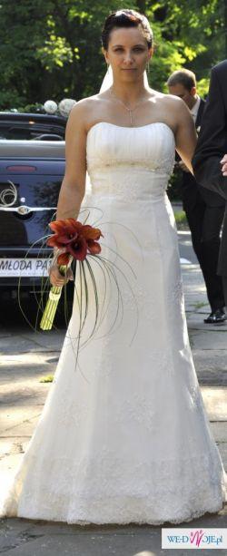Suknia ślubna - Classa C 616 - ecru