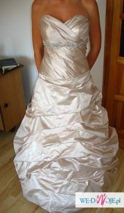 Suknia ślubna CLASSA w niepowtarzalnym kolorze ŚLĄSK Bielsko-Biała TANIO