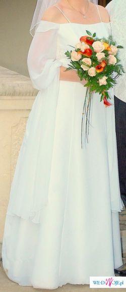 Suknia ślubna COSMOBELLA 7061 rozm.40