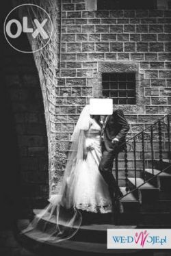 Suknia ślubna Cosmobella 7448 rozmiar 44 46 48