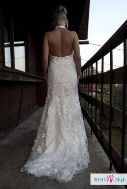 Suknia ślubna Cymbeline *GALANTE* rozmiar:36-38, kolor: śmietanka