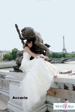 suknia ślubna cymbeline, kolekcja 2007, model accacia