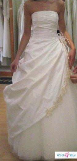 Suknia ślubna CYMBELINE model 513 (jasny ecri)