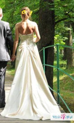 Suknia ślubna Damas 36-38 Szampańska