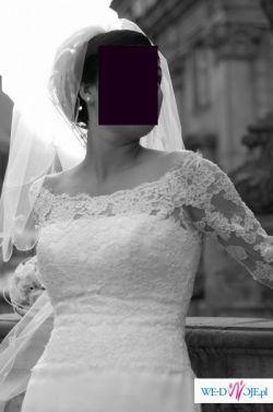 Suknia ślubna Damasco z kolekcji Pronovias