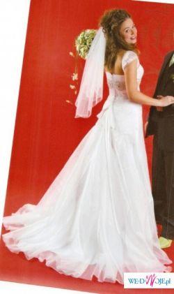 Suknia Ślubna DARENA  z kolekcji GALA 2008, r. 36-38