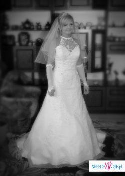 Suknia ślubna DEMETRIOS 1359 na filigramową panią