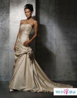Suknia ślubna Demetrios 3049 kolor piaskowy