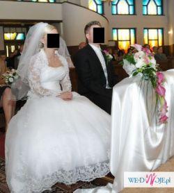 Suknia ślubna DEMETRIOS 4262 + welon rozm.38/40