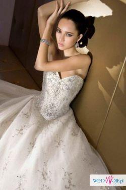 Suknia ślubna Demetrios 502 z salony Lisa Ferrera