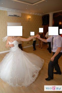 Suknia ślubna Demetrios 933 r. 38 (sznurowana)