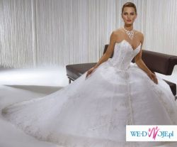suknia ślubna demetrios model 933 wzrost 165cm rozmiar 6(36)
