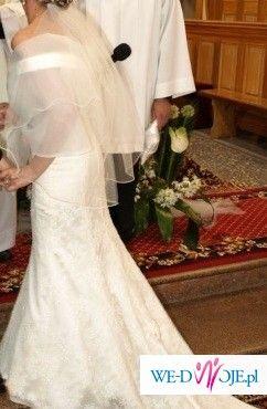 Suknia Slubna Demetrios roz.36 Ecru