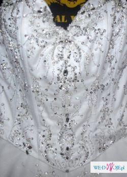 Suknia ślubna demetrios984 Lisa Ferrera