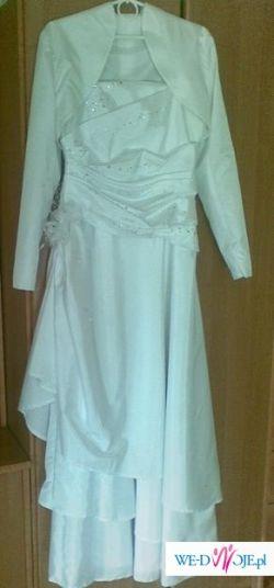 suknia ślubna + diadem gratis
