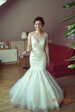 suknia ślubna Diane Legrand model 4219