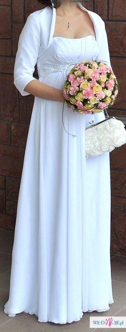 Suknia ślubna (dla ciężarnej)