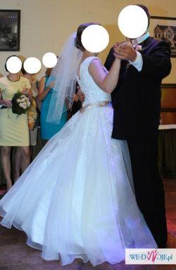 Suknia ślubna dla drobnej dziewczyny
