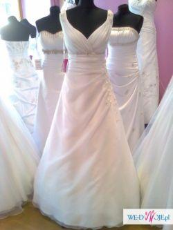 Suknia ślubna dla filigranowej kobiety:)