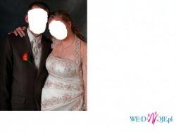 suknia ślubna dla kobiety w ciązy