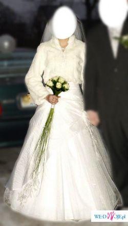 Suknia Ślubna dla Księżniczki- biała 36