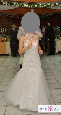 Suknia ślubna dla niskiej i filigranowej