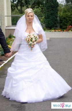 """Suknia ślubna dla prawdziwej księżniczki """"Tuberoza"""""""