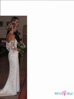 suknia ślubna dla szczupłych :)