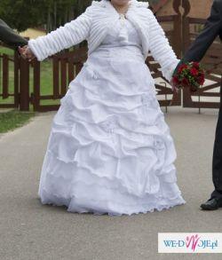 Suknia ślubna +dodatki