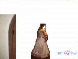 suknia ślubna + dodatki (moze być dla cięzarnej)